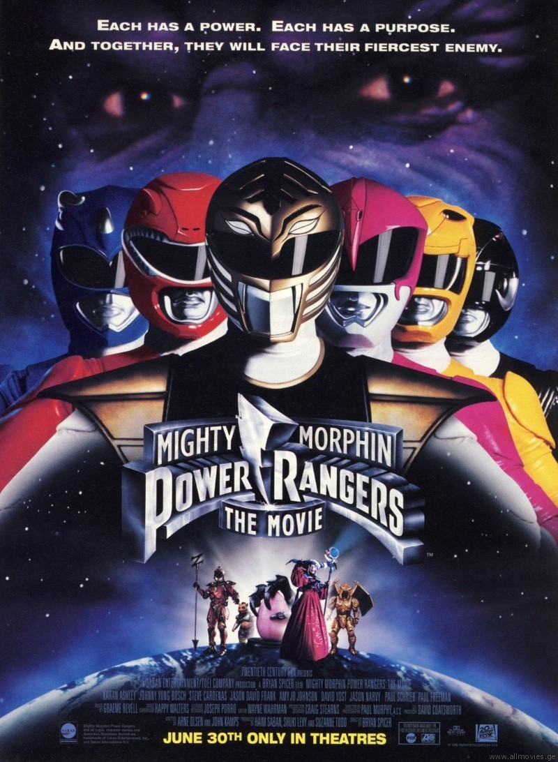 Power Rangers Der Film 1995 Deutsch