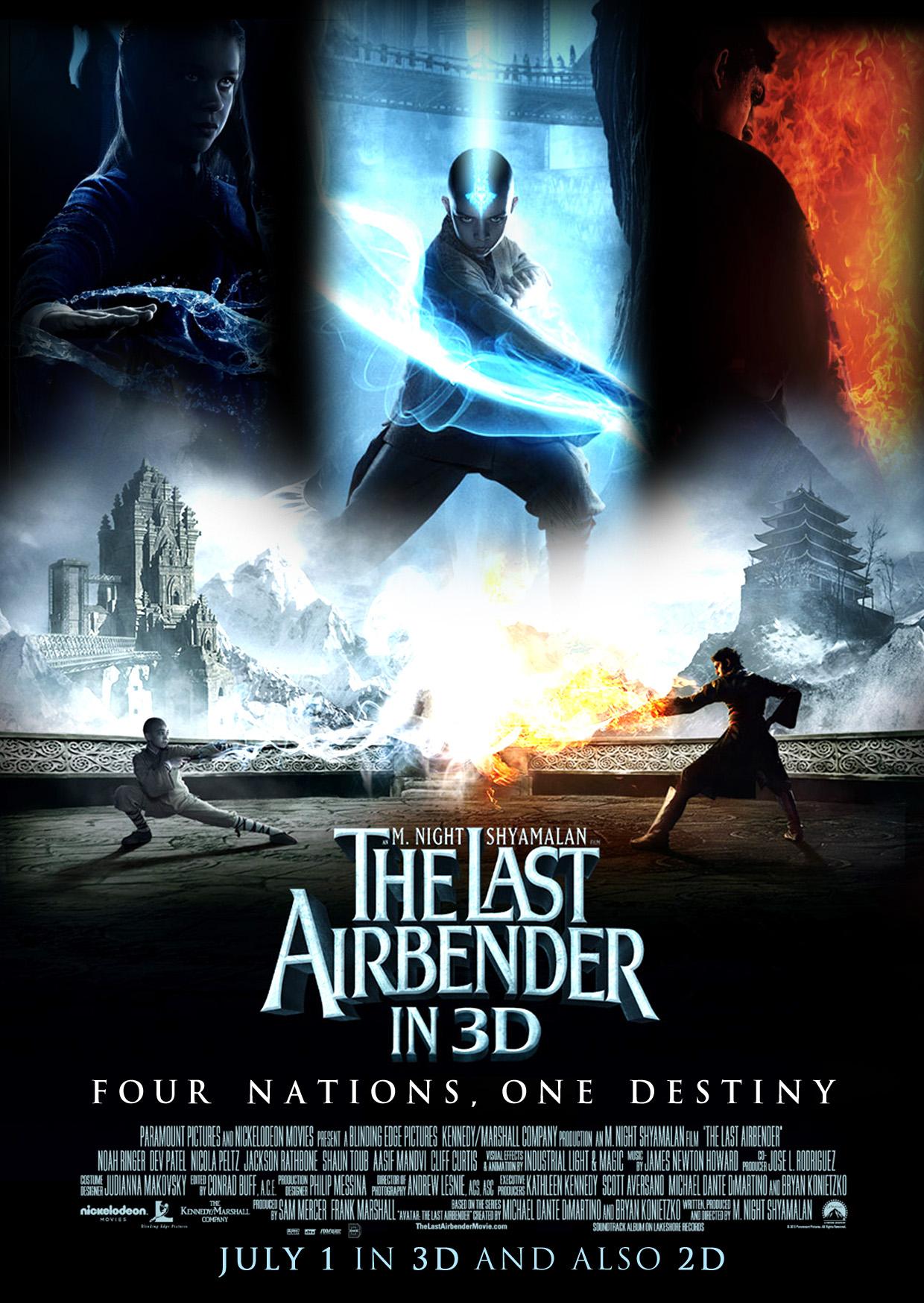Die Legende Von Aang The Last Airbender 2010 Rezensiolo