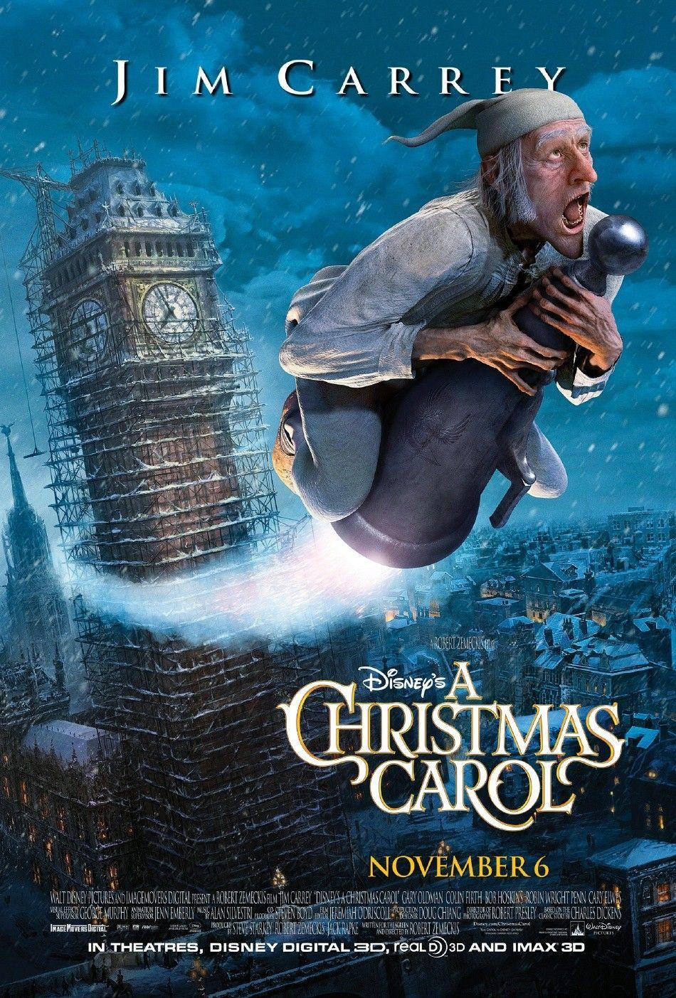 Disneys Eine Weihnachtsgeschichte (A Christmas Carol/2009) | REZENSIolo
